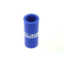 Szilikon összekötő, egyenes TurboWorks Kék 25mm